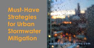 Urban Stormwater Mitigation Strategies
