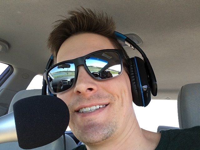 Ben Hale mobile podcast recording studio