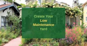 How to have a low maintenance landscape