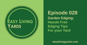 Hassle free garden edging for your yard