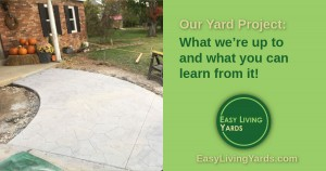 Our DIY landscaping - what you can learn from our mistakes