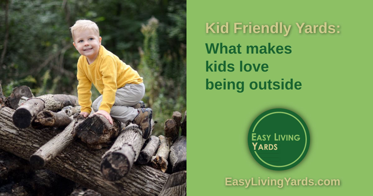 Backyard ideas for kids - kid friendly landscaping