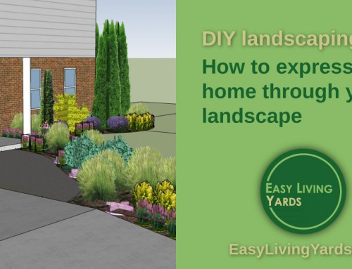 Express your home with these DIY landscaping tips