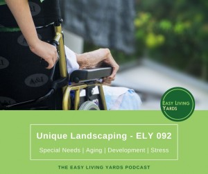 Landscaping for disabilities