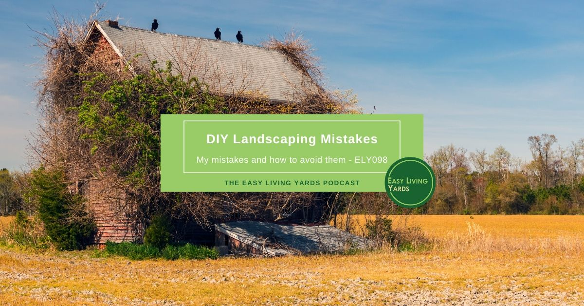 DIY Landscaping Mistakes
