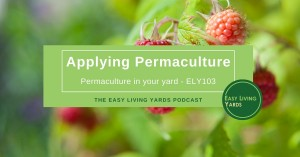 Applying Permaculture - ELY103
