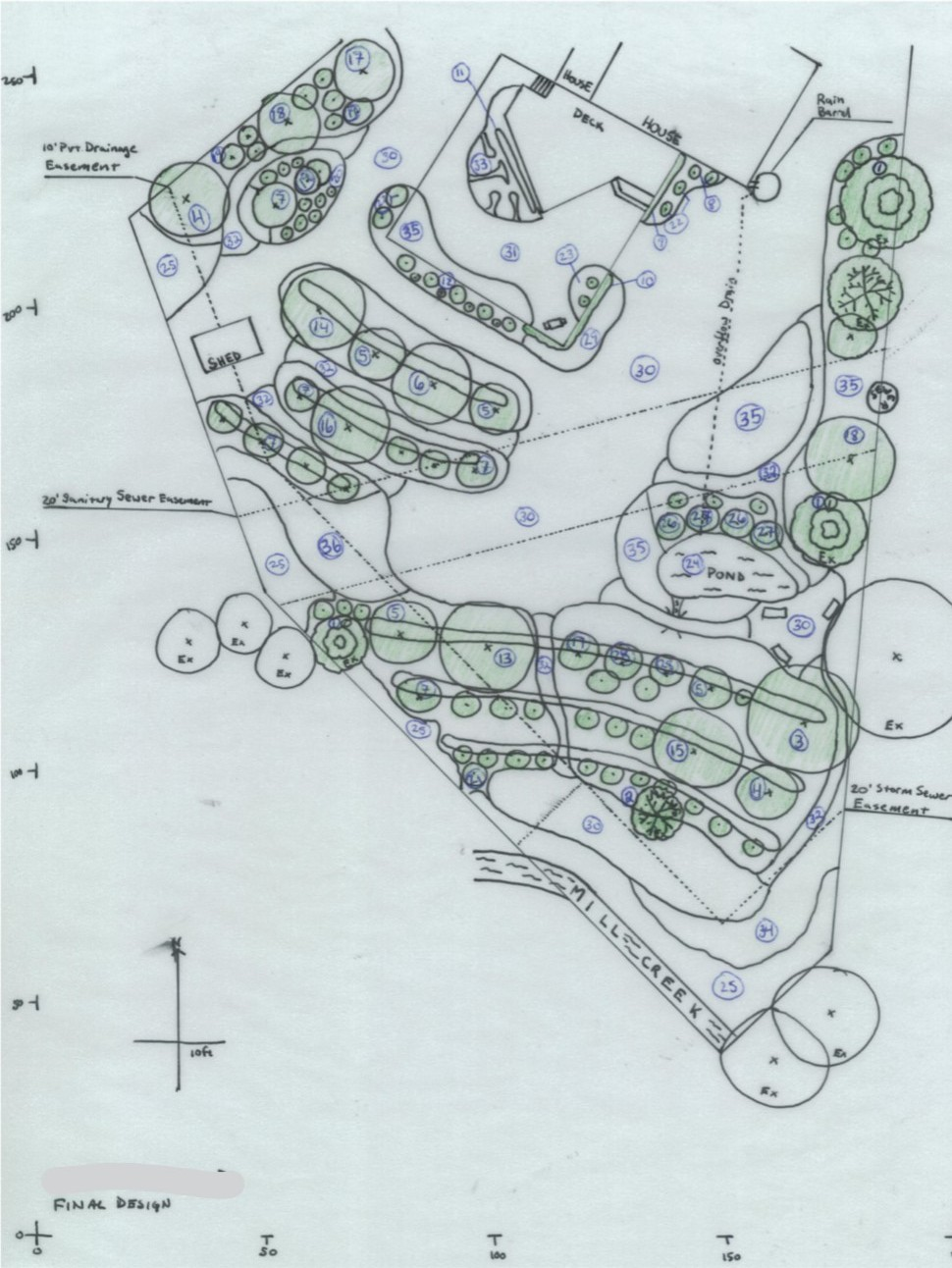 Ecological Landscaping - Permaculture Concept Planting Design