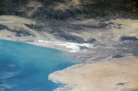 Colorado River Delta dry.