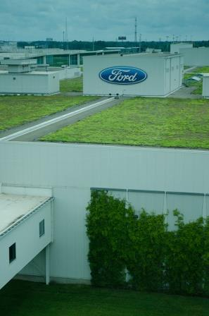 Ford River Rouge Plant Green Roof
