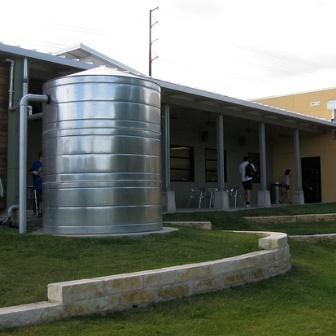 A large rain catchment system
